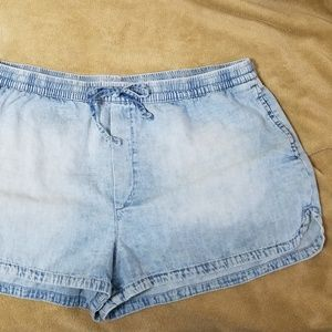 American Eagle Outfitters Aerie Chambray Shorts